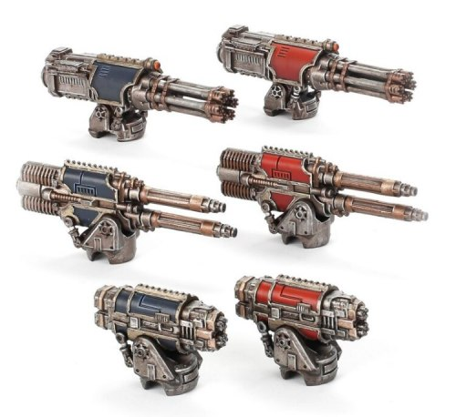 Adeptus Titanicus Warlord Paired Weapons Collection