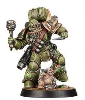 Space Marine Heroes Series 3  JAPAN EXCLUSIVE  DEATH GUARD the second