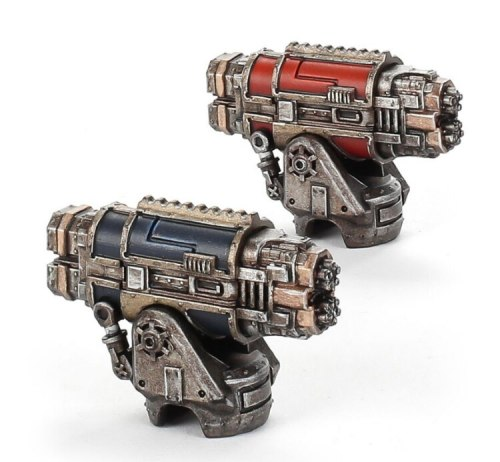 Adeptus Titanicus Warlord Battle Titan Paired Vulcan Mega-bolters