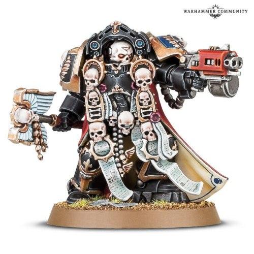 Exclusive Space Marine Terminator Chaplain