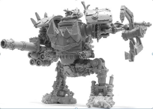 ORK MEGA DREAD (Including weapons)