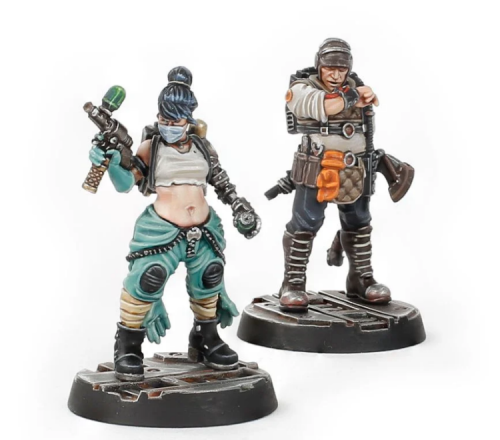 Necromunda Rogue Doc and Gang Look-out