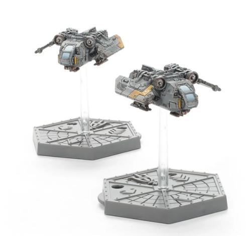 Aeronautica Imperialis Imperial Navy Arvus Lighters