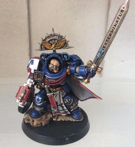 Imperial Fists Terminator Captain