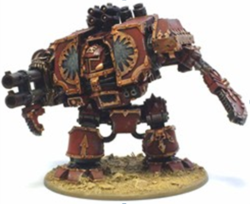 WORLD EATERS DREADNOUGHT BODY (not include weapons)