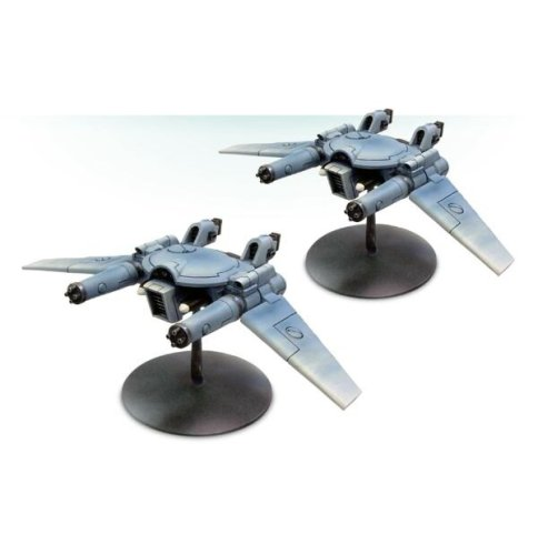 TAU REMORA DRONE STEALTH FIGHTERS(Clear Material)
