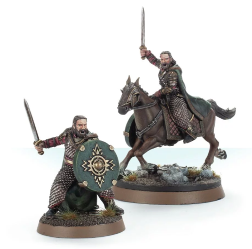Lord of the Rings Déorwine, Chief of the King's Knights, Foot and Mounted