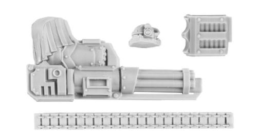 Cataphractii Iliastus Pattern Assault Cannon bits