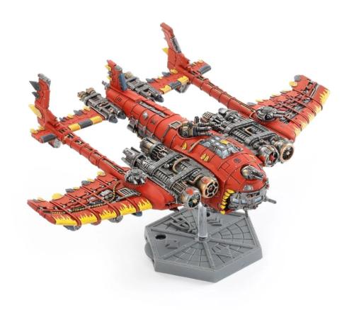 Aeronautica Imperialis   Ork Air Waaagh! Mega Bommer