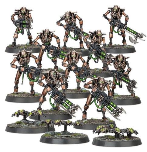 Indomitus Necrons Warriors