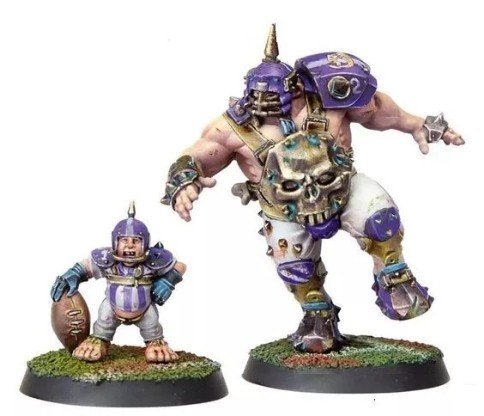 Blood Bowl Grak And Crumbleberry  Limited Edition