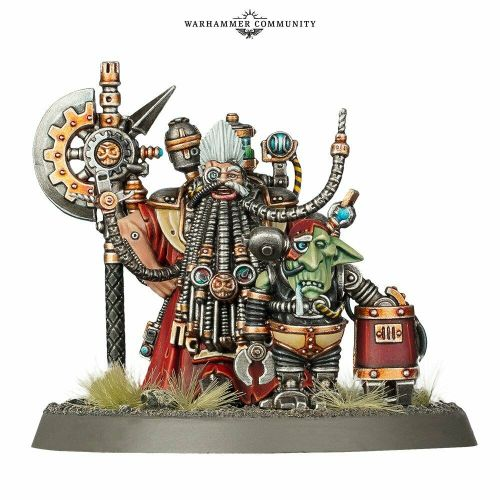 Tech-Priest Grombrindal White Dwarf     Limited Edition
