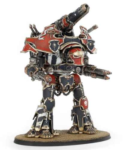 Adeptus Titanicus Warbringer Nemesis Titan with Quake Cannon, Volcano Cannon and Laser Blaster