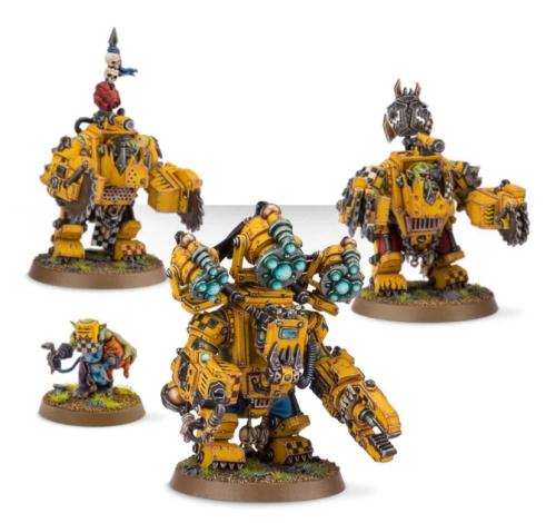 Ork Meganobz / Big Mek in Mega Armour
