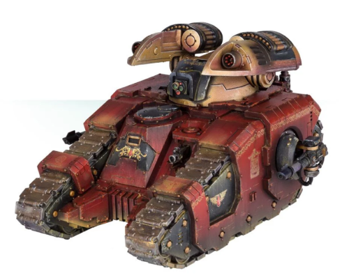 Legion Sicaran Arcus Strike Tank