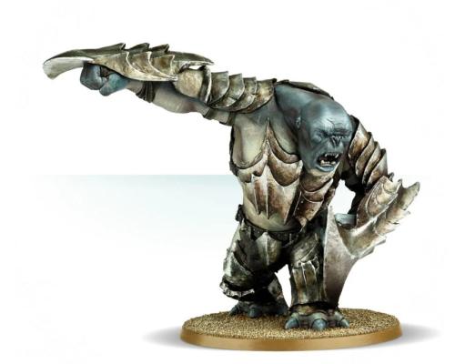 Gundabad Troll with Scythe Gauntlets
