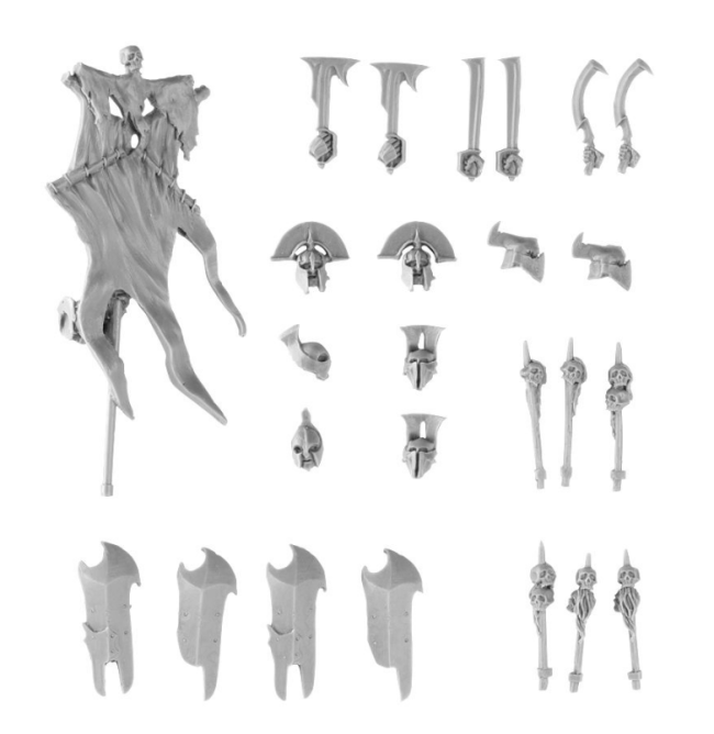 Gundabad Orc Upgrade Set