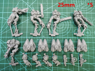 Chao Space Marine Raptors   ( Resin material  )