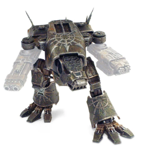 Copy Chaos Warhound Scout Titans BODY (Only body )