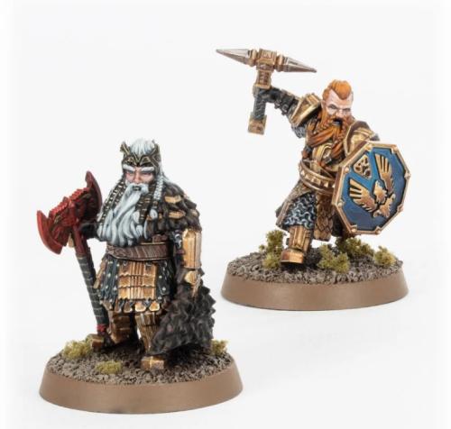 King Dáin Ironfoot and Thorin III 'Stonehelm'