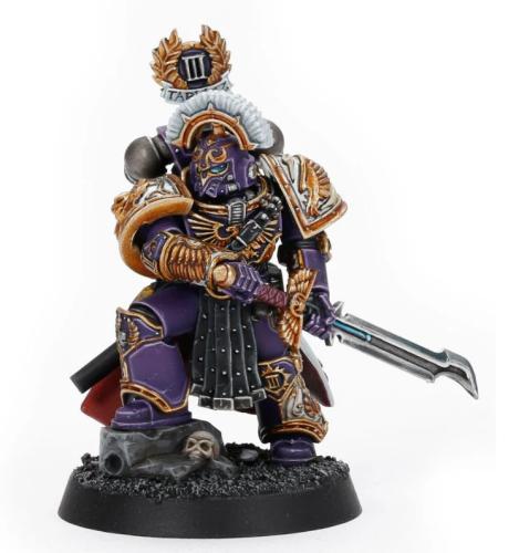 Saul Tarvitz, Captain of the Emperor's Children 10th Company