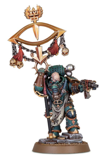 SONS OF HORUS Maloghurst the Twisted, the Warmaster's Equerry