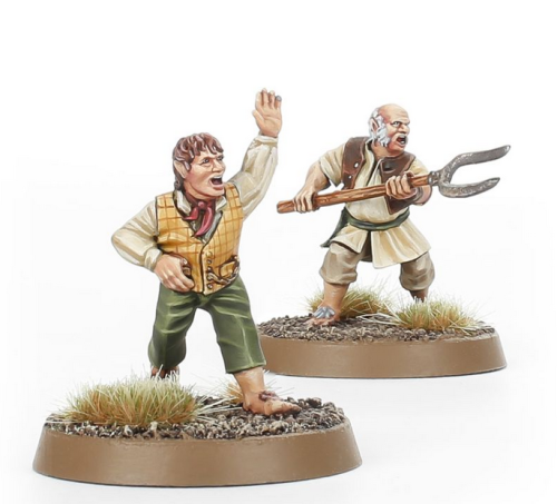 Personalities of the Shire  II – Folco Boffin and Farmer Cotton