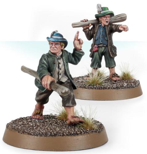 Shirriffs of the Shire – Holfoot Bracegirdle and Robin Smallburrow
