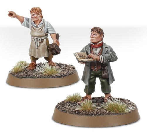 Vagabonds of the Shire – Ted Sandyman and Lotho Sackville-Baggins