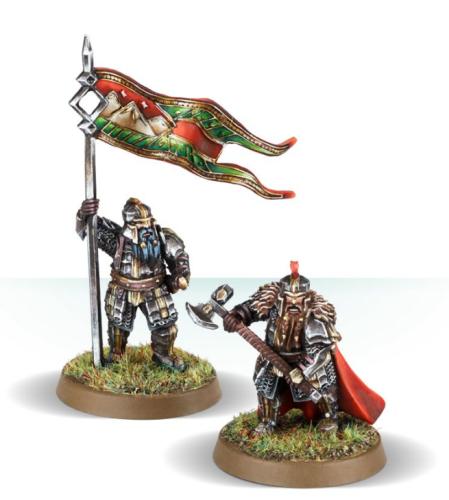 Iron Hills Dwarf Command with Mattocks