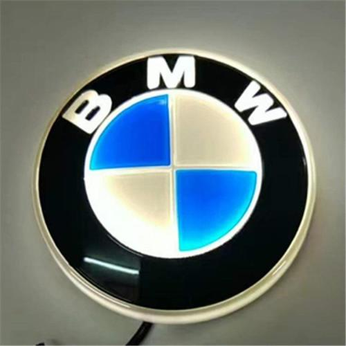 4D Car Logo Badge LED Light - For The Front And Back
