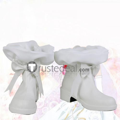 Shugo Chara King's Chair Tadase Hotori Platinum Royale White Cosplay Shoes