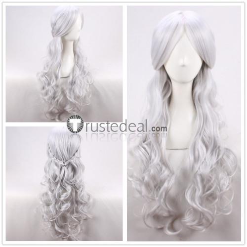 Game of Thrones Queen Daenerys Targaryen Dany Silver Grey Cosplay Wig