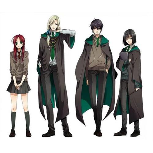 Harry Potter Lucius Cosplay Cloak Set Costume