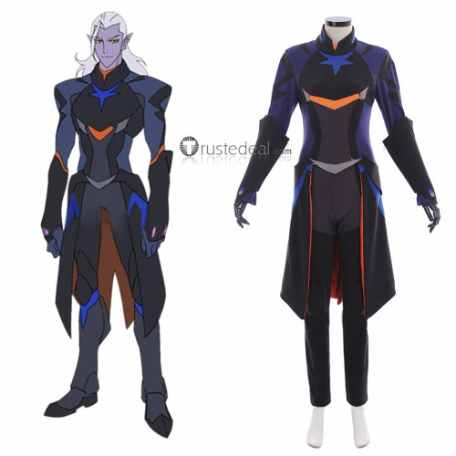 Voltron Legendary Defender Prince Lotor Jumpsuit Cosplay Costume