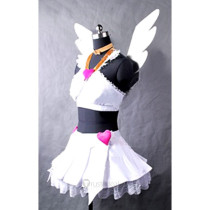 Panty & Stocking with Garterbelt Anarchy Panty Angel White Cosplay Costume