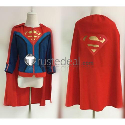 Superman Jonathan Samuel Kent Jon Kent Blue Red Cosplay Costume
