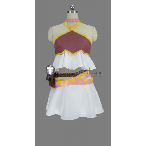 Fairy Tail Dragon Cry Lucy Heartfilia White Cosplay Costume