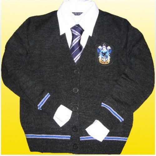 Harry Potter Ravenclaw Knitwear And Necktie And Shirt