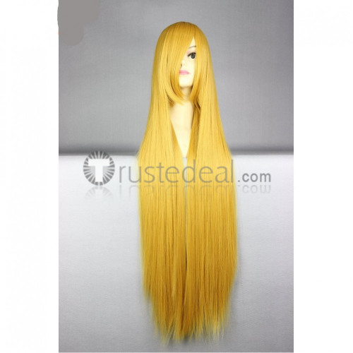 Bleach Hirako Shinji Shinigami Long Blonde Cosplay Wig