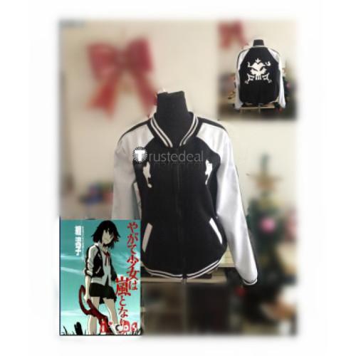 KILL la KILL Ryuko Matoi Black Baseball Uniform Cosplay Costume 2