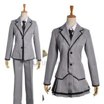 Assassination Classroom Karma Yuuma Ryunosuke Kaede Ansatsu Nagisa Kunugigaoka Junior High School Girls Boys Uniform Cosplay Costumes