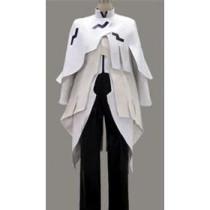 Guilty Crown TSUTSUGAMI GAI White Cosplay Costume