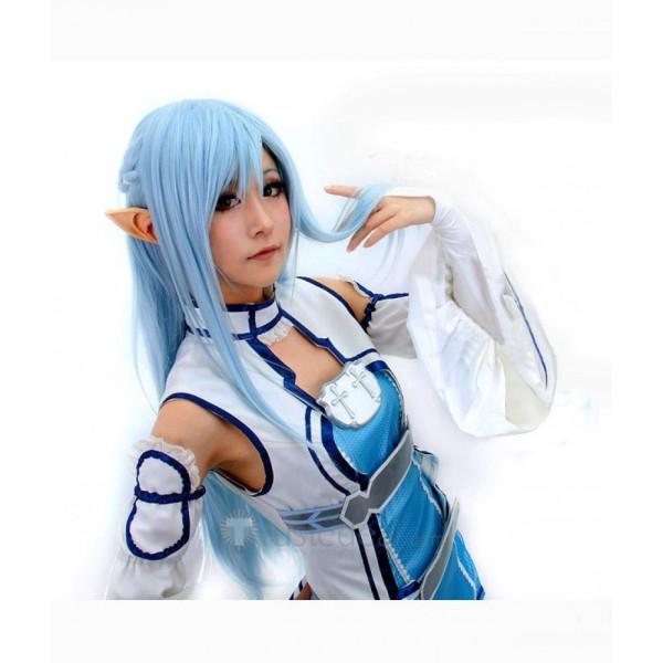 Sword Art Online Asuna Cosplay Wig Blue Version