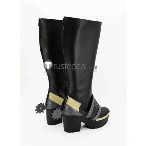 Re Creators Altair Military Uniform Princess Black Cosplay Boots
