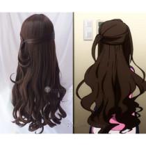 The Idolmaster Cinderella Girls Uzuki Shimamura Brown Cosplay Wig
