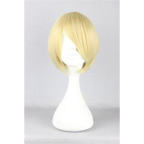 Ouran High School Host Club Mitsukuni Haninozuka Honey Senpai Blonde Cosplay Wig