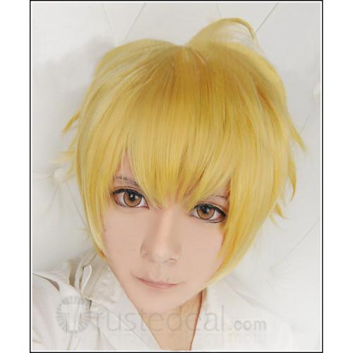 Noragami Yukine and One Week Friends Kiryuu Shougo Blonde Cosplay Wig