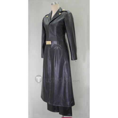 Gintama Bansai Kawakami Black Cosplay Costume