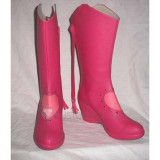 Macross Frontier Sheryl Nome Pink Cosplay Boots Shoes 1